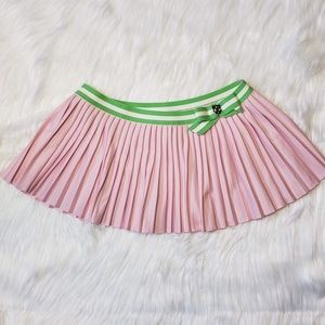 Juicy Couture Tennis Skirt Pink Pleated Size Small
